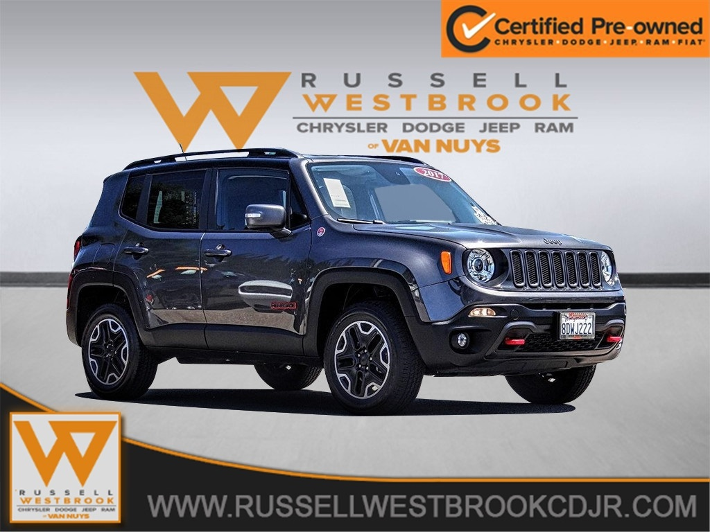 Jeep Certified Pre-Owned >> Certified Pre Owned 2017 Jeep Renegade Trailhawk 4d Sport Utility In